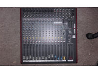 Great condition Allen & Heath zed-16FX multi purpose USB mixer for live sound and recording