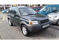 2000/V LAND ROVER FREELANDER 2.0 XLDi 3 DOOR, GLASS SUNROOF, EXCELLENT CONDITION