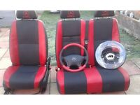mercedes sprinter driver seats and passangers