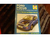FORD FOCUS CAR MANUAL