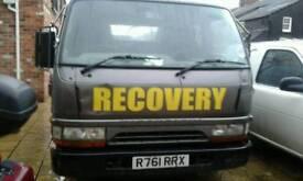 Mitsubishi recovery truck