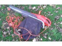 Flymo Scirocco 3000W leaf blower vacuum.