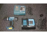 New condition makita drill and chargers