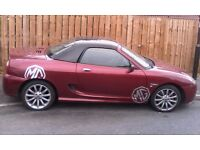 Mg tf 135 covertable sheffield 695 ono
