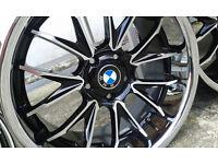 "5x120, 19"", bmw 1 series,3 series, alloy wheels , rims, custom made,chrome, deepdish"
