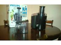 PHILIPS JUICER 650w, 2 speed model.
