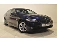 BMW 5 SERIES 2.0 520D EFFICIENTDYNAMICS 4d 181 BHP (blue) 2012