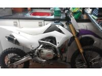 Stomp 110 pit bike only 7 months old very good condition like new