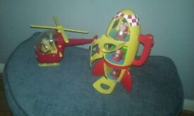 Peppa Pig Rocket and Helicopter