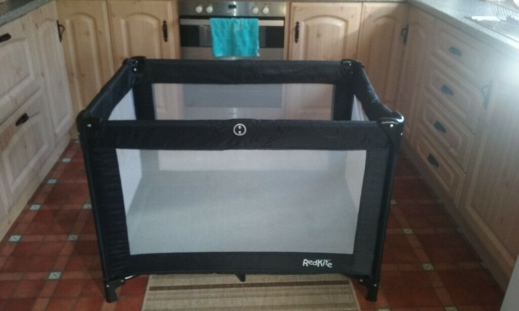 black kite travel cot,excellent conidition comes with original carry bag,works perfectlyin Ballymena, County AntrimGumtree - Excellent condition,comes with original travel bag,black in colour. collection only call if interested... if local consider delivery...genuine interest only please. good bargain