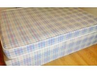 Double Bed - Base and Mattress