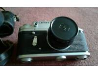 Zorki - 4K Vintage Camera with Lens & Case