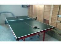 Full size league fold away table tennis table