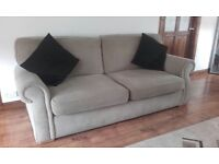 3 and 2 seater couch - great condition