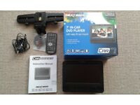 "Used single Nextbase Car 7"" Portable DVD Player"