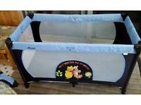 Hauck mobile travel cot and matress
