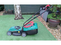 Qualcast corded rotary lawnmower