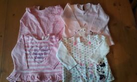 3-6 month girls tops