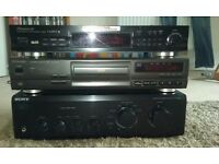 Stereo Separates For Sale. Sony Amp, Technics CD Unit and Pioneer Digital Tuner.