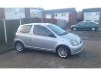 Toyota yaris excellent condition £525