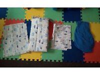 4 piece baby boy bedding set