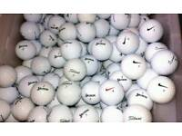 Golf Balls- Nike, TitleistandSrixon etc