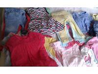 Girls 12-18 months clothes bundle £35