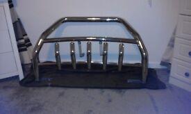 a frame chrome bullbar