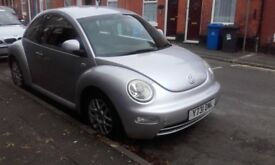 VOLKSWAGEN BEETLE 2.0 PETROL MANUAL FULL SERVICE HISTORY IN GREAT CONDITION MOT 11 MONTH SWAP WELOME
