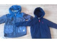 Next and jasper conran 2 boys jackets age 18mnth to 3 yrs