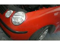 Vw polo 9n 1.2 awy 73k red breaking