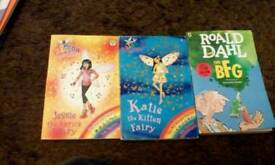 Rainbow fairies and the bfg books