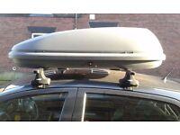 Car Roof Box - Halfords 420L