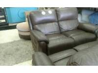 Ex display scs recliner 2 seater delivery free