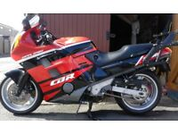 Honda CBR 1000 F With Givi Top And Side Panniers ..