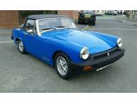 MG Midget 1500 1975 with hard and soft tops rebuilt