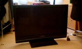 42 inch plasma, panasonic viera tv with now tv box