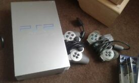 Ps2 two controllers and games