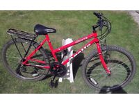 Apollo ladies mountain bike - rear pannier rack/carrier
