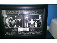 Ricky hatton v Floyd mayweather