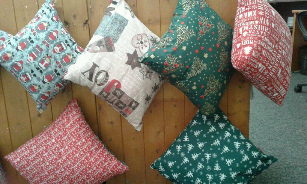Brand new Christmas cushions for sale