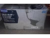 Toilet pan & cistern