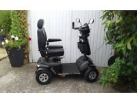RASCAL VENTURA 8MPH MOBILITY SCOOTER IN AS NEW CONDITION