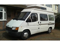 "FORD TRANSIT FRONTIER CAMPERVAN """"""SOLD SUBJECT TO COLLECTION"""""""