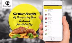 Get more benefits by incorporating your restaurant into mobile app