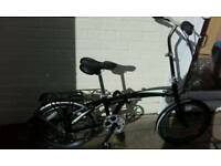 Brand new indigo flip folding bike other folding bikes available