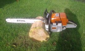 Stihl ms440 chainsaw