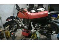 Honda xr 80 - 125 engine