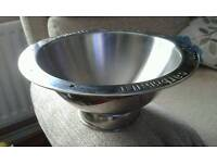 STAINLESS STEEL PASTA BOWL.