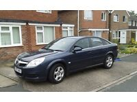 Vauxhall vectra exclusive family car.